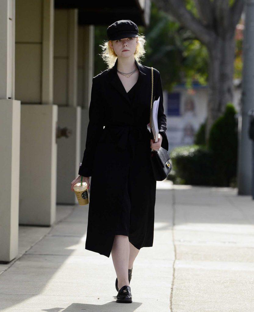 Elle Fanning Was Seen on Roberston Blvd in LA-3