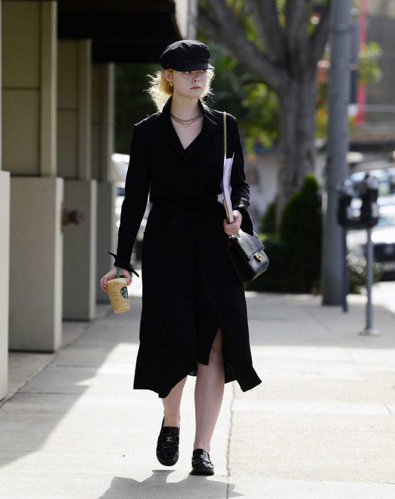Elle Fanning Was Seen on Roberston Blvd in LA-4