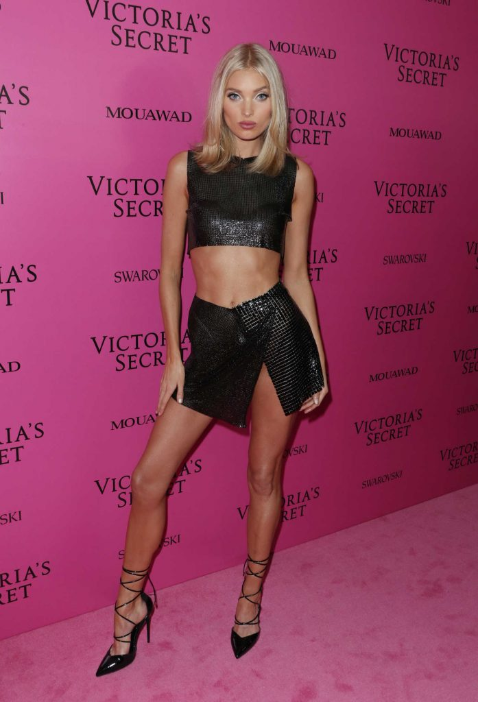 Elsa Hosk at 2017 Victoria's Secret Fashion Show After Party in Shanghai-1