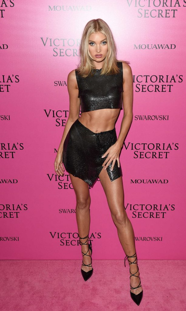 Elsa Hosk at 2017 Victoria's Secret Fashion Show After Party in Shanghai-2