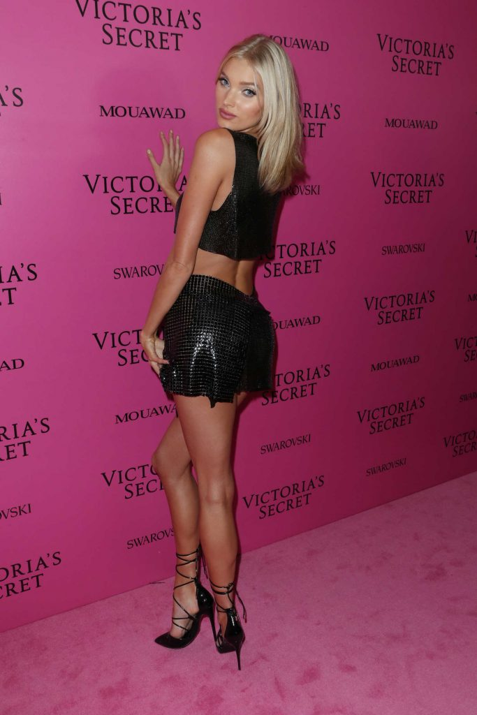Elsa Hosk at 2017 Victoria's Secret Fashion Show After Party in Shanghai-3