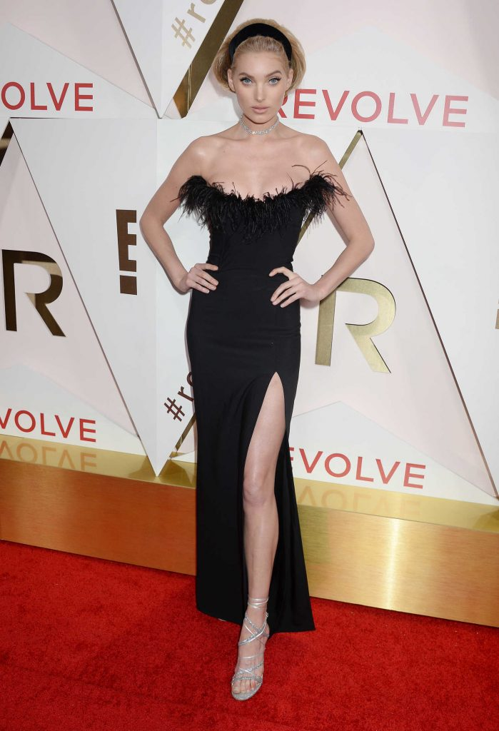Elsa Hosk at the REVOLVE Awards in Los Angeles-5