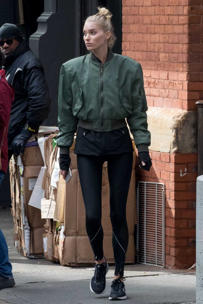 Elsa Hosk Was Seen Out in NYC-1