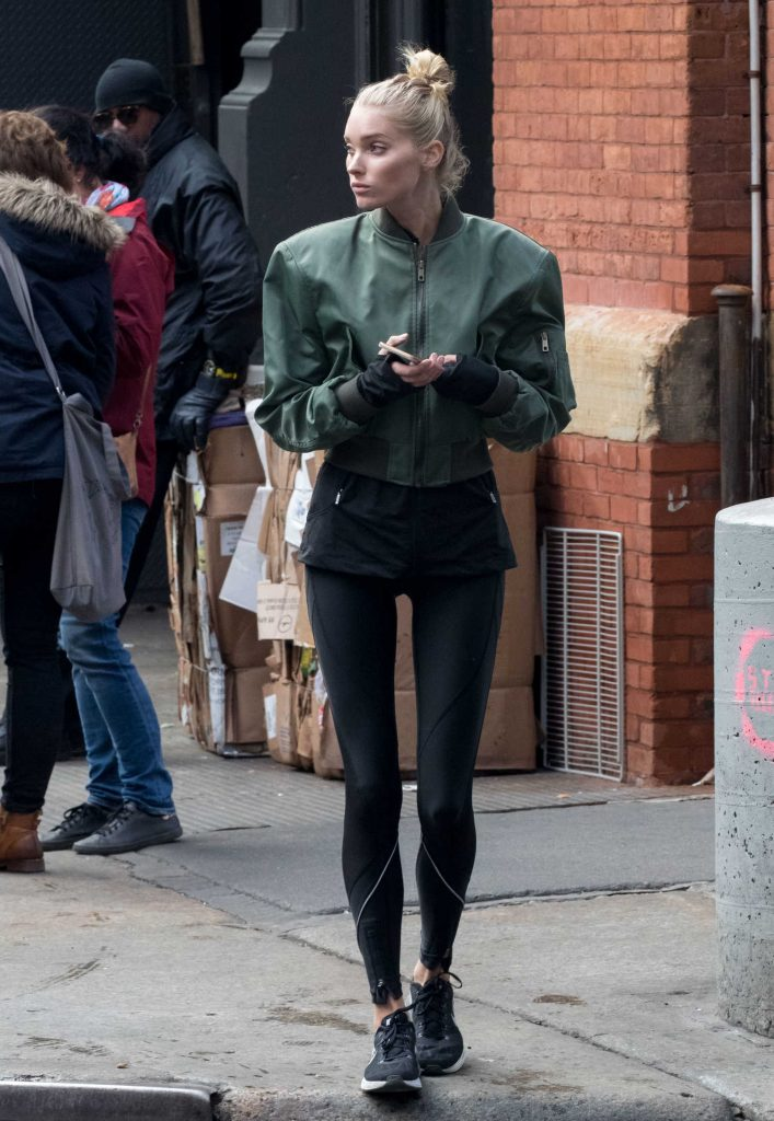 Elsa Hosk Was Seen Out in NYC-2