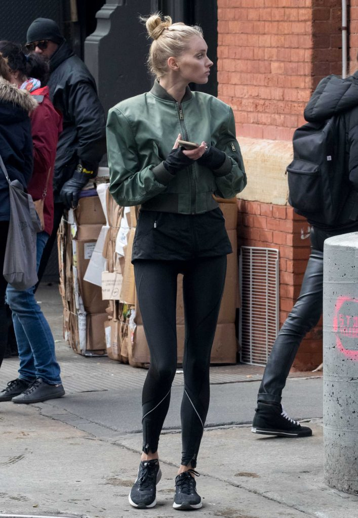 Elsa Hosk Was Seen Out in NYC-4