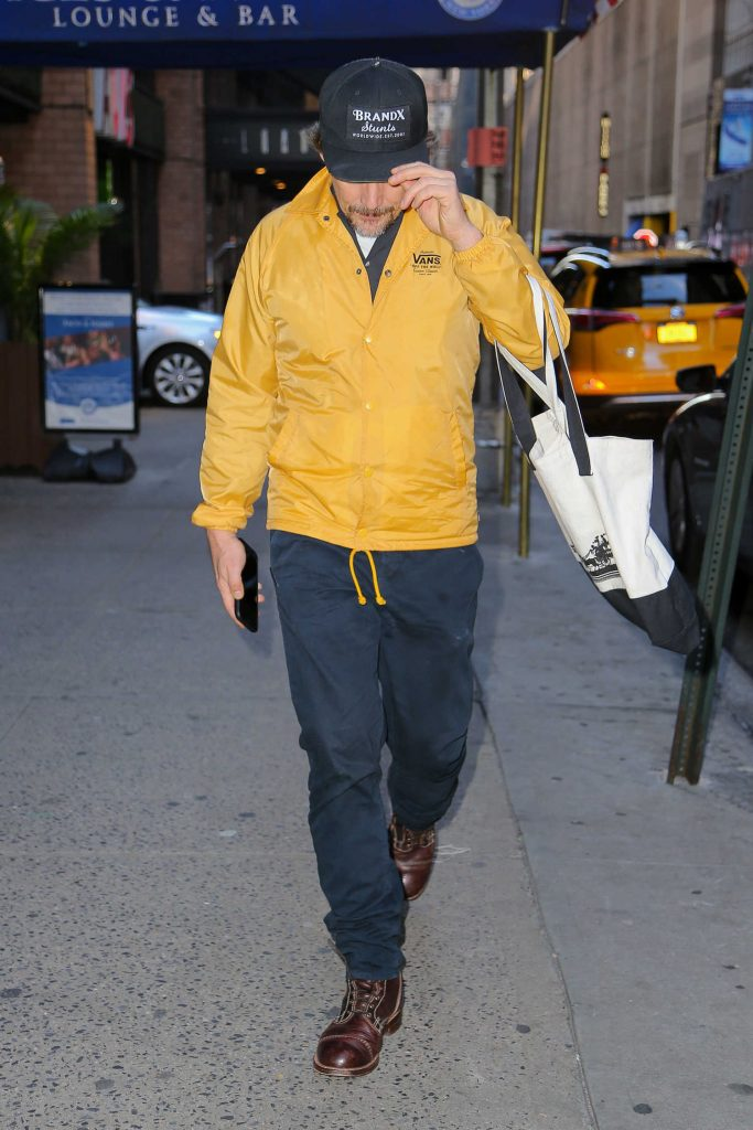 Ethan Hawke Was Seen Out in New York City-3