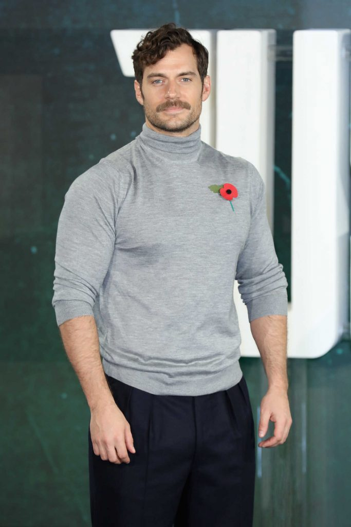 Henry Cavill at Justice League Photocall in London-4