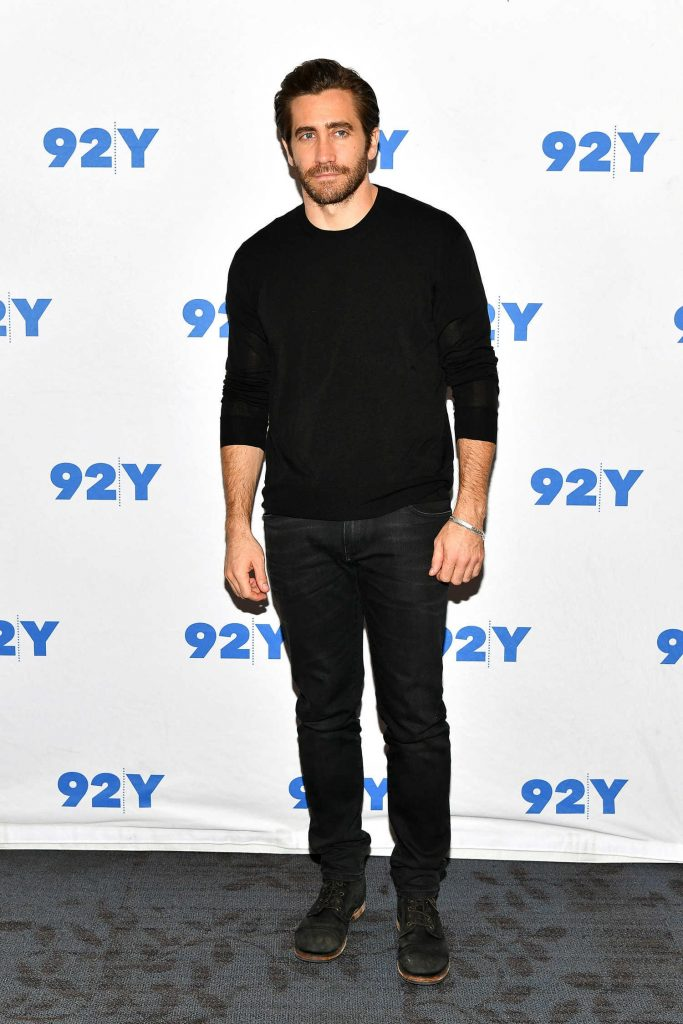 Jake Gyllenhaal at the 92nd Street Y in Conversation Followed by Stronger Screening in NYC-1
