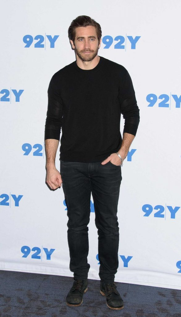 Jake Gyllenhaal at the 92nd Street Y in Conversation Followed by Stronger Screening in NYC-2