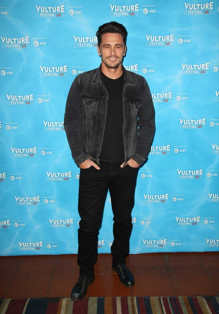 James Franco at The Disaster Artist Panel During Vulture Festival in Los Angeles-1