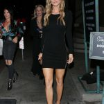 Joanna Krupa Dines at Catch Restaurant in West Hollywood