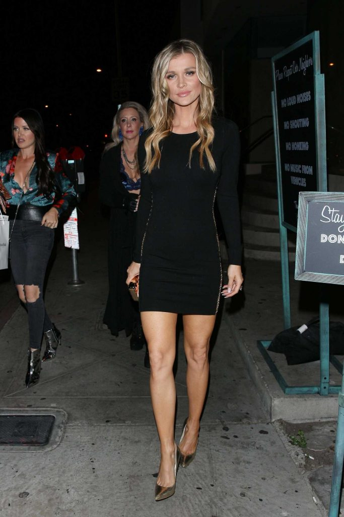 Joanna Krupa Dines at Catch Restaurant in West Hollywood-1