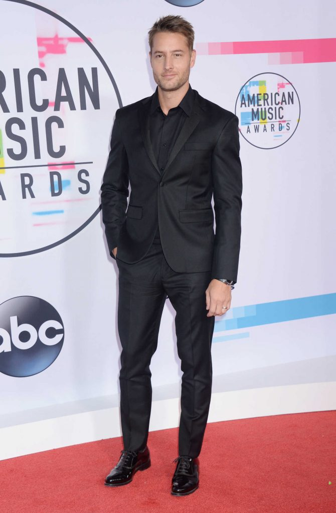 Justin Hartley at 2017 American Music Awards at the Microsoft Theater in Los Angeles-1