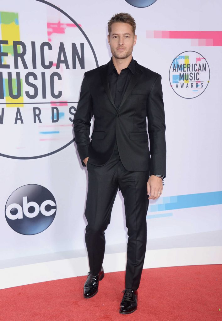 Justin Hartley at 2017 American Music Awards at the Microsoft Theater in Los Angeles-2