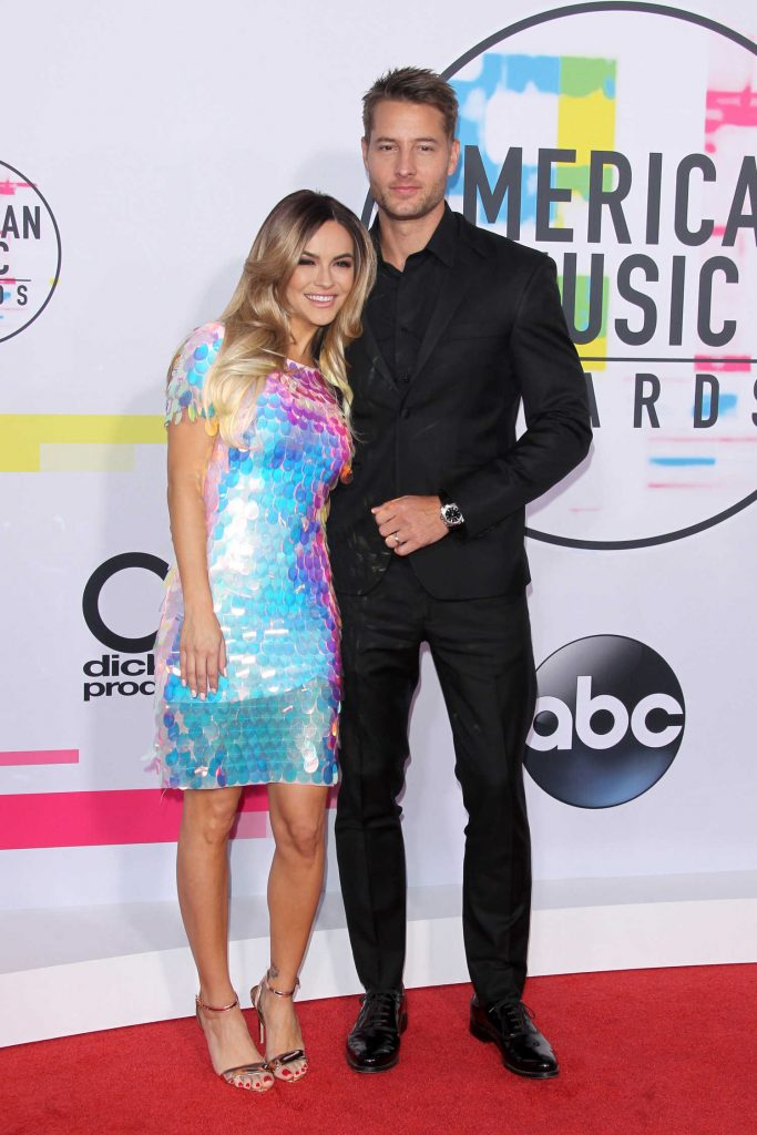 Justin Hartley at 2017 American Music Awards at the Microsoft Theater in Los Angeles-3