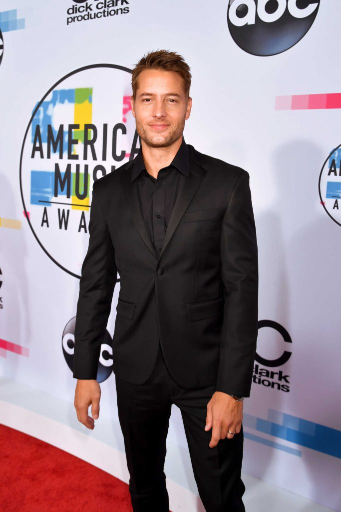 Justin Hartley at 2017 American Music Awards at the Microsoft Theater in Los Angeles-4