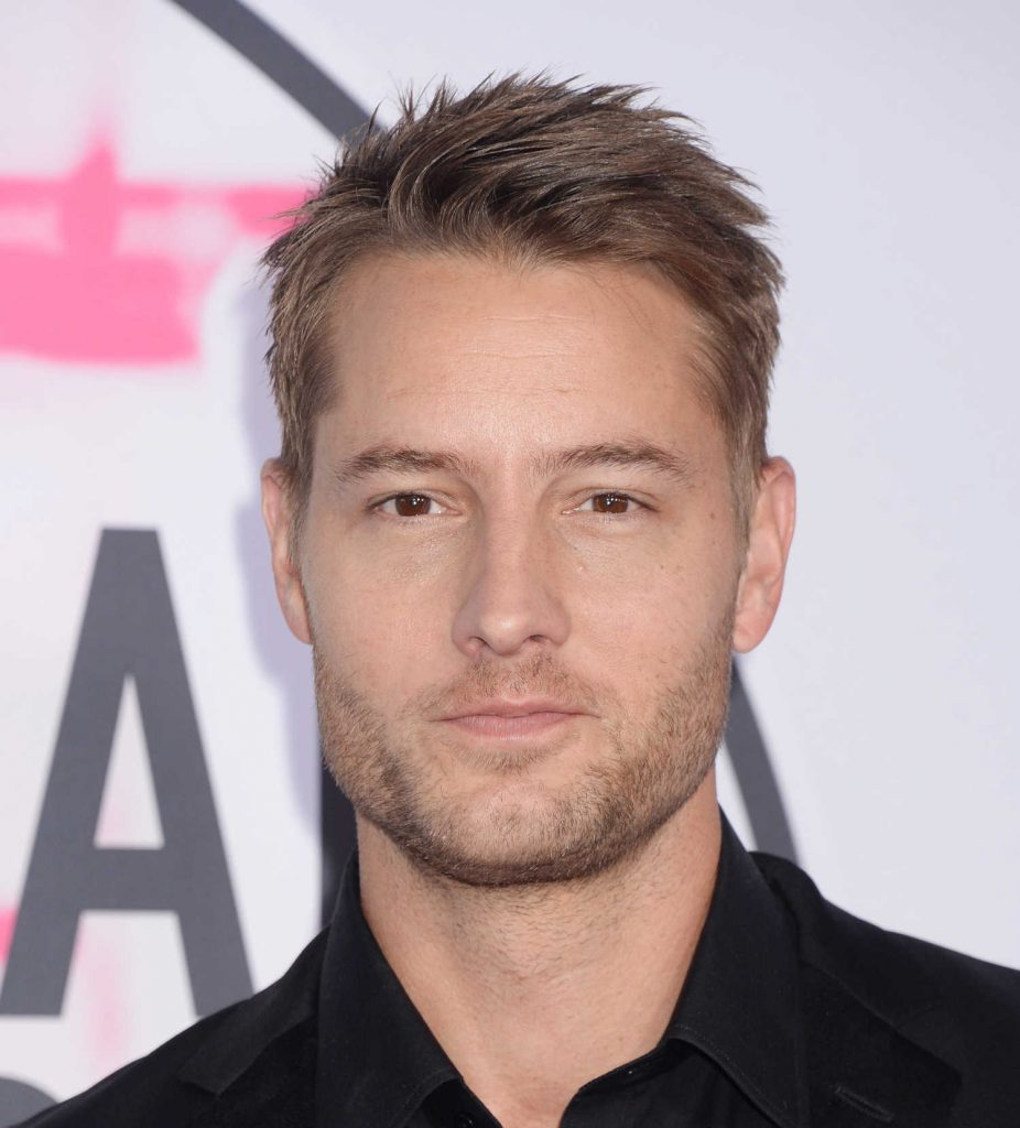 Justin Hartley at 2017 American Music Awards at the Microsoft Theater in Los Angeles-5