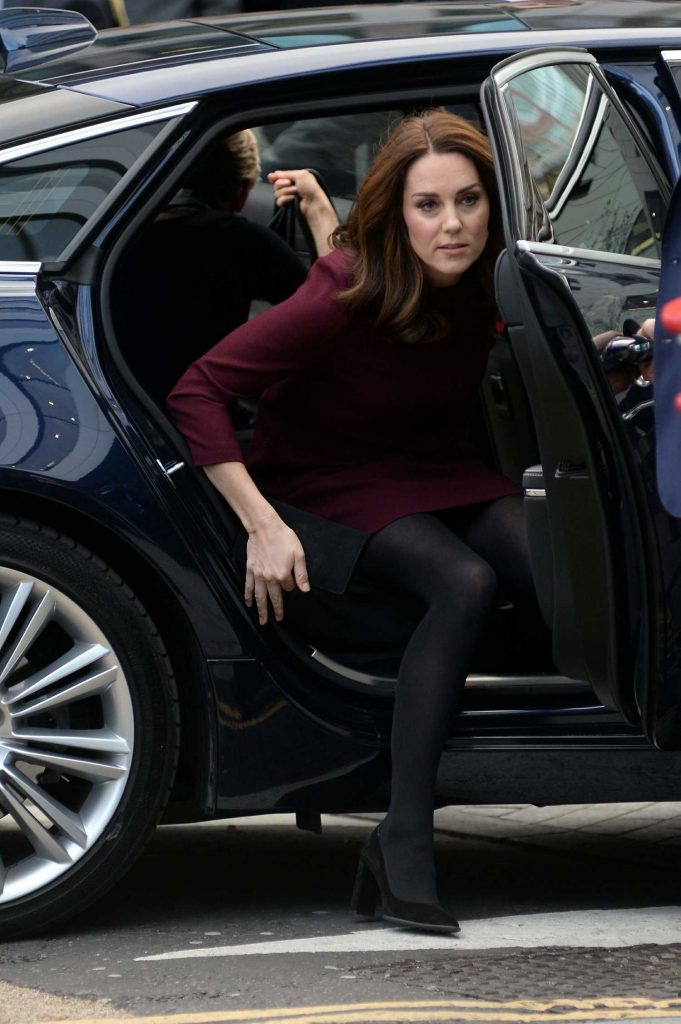 Kate Middleton Arrives at UBS Building in London-1