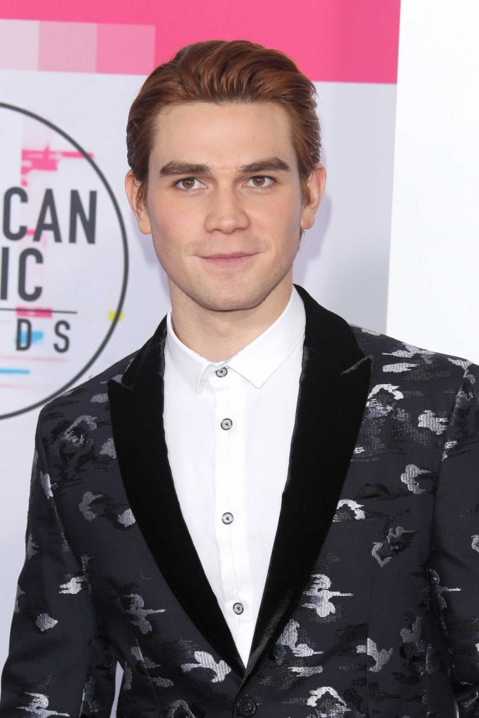 KJ Apa at 2017 American Music Awards at the Microsoft Theater in Los Angeles-3