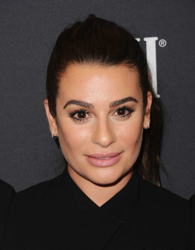 Lea Michele at the HFPA and InStyle Celebrate the 75th Anniversary of The Golden Globe Awards at Catch LA-5