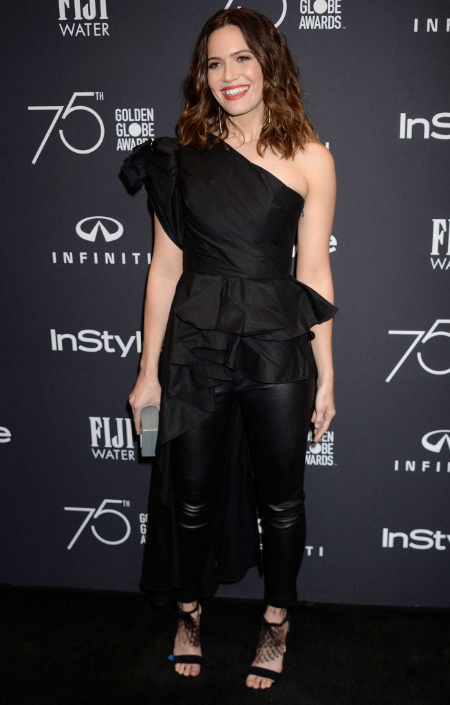 Mandy Moore at the HFPA and InStyle Celebrate the 75th Anniversary of The Golden Globe Awards at Catch LA-1