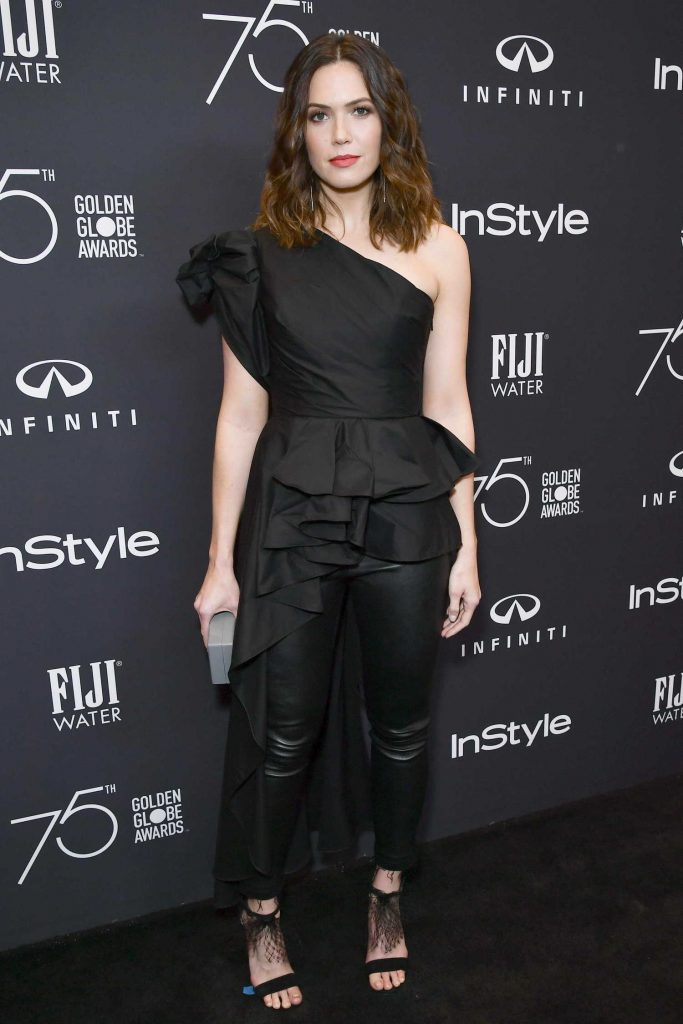 Mandy Moore at the HFPA and InStyle Celebrate the 75th Anniversary of The Golden Globe Awards at Catch LA-2