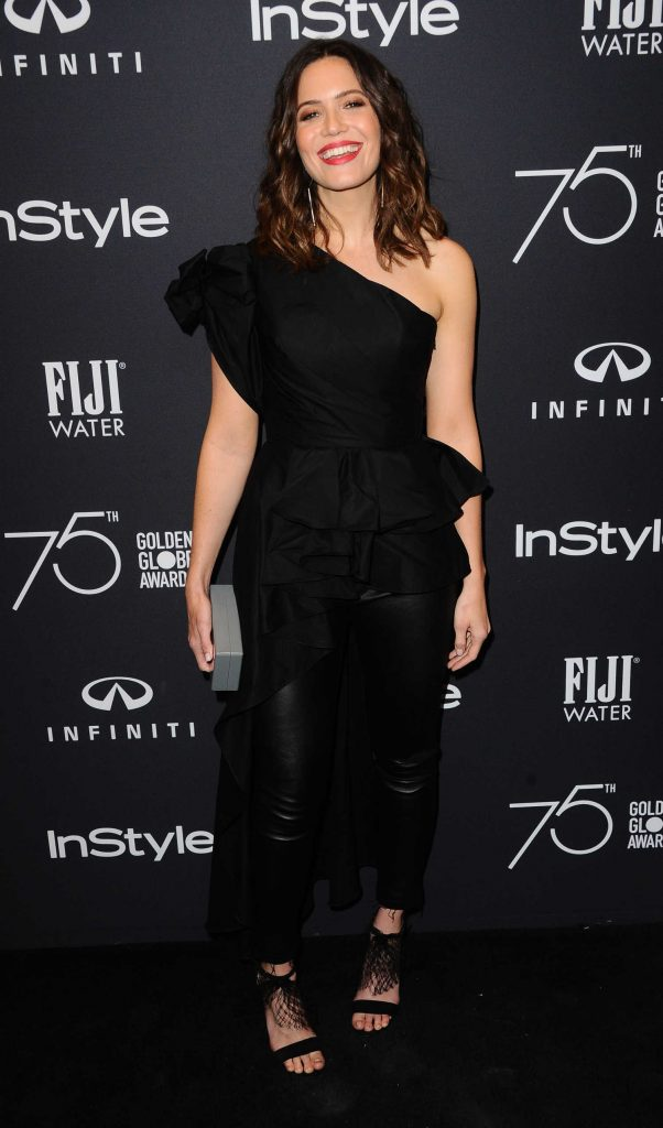Mandy Moore at the HFPA and InStyle Celebrate the 75th Anniversary of The Golden Globe Awards at Catch LA-3