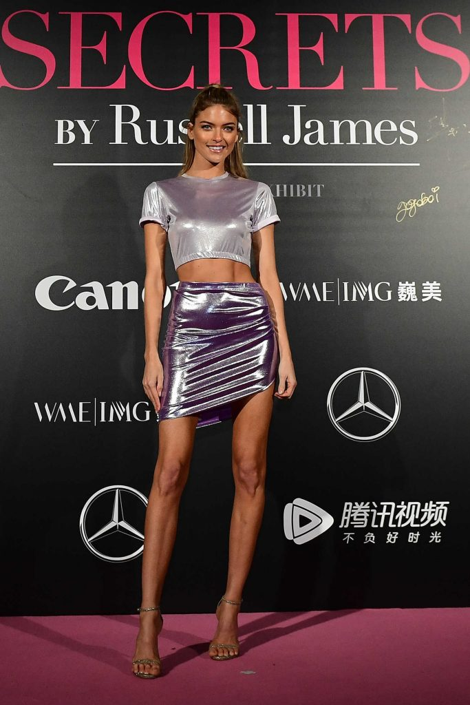 Martha Hunt at the Mercedes-Benz Backstage Secrets By Russell James in Shanghai-1