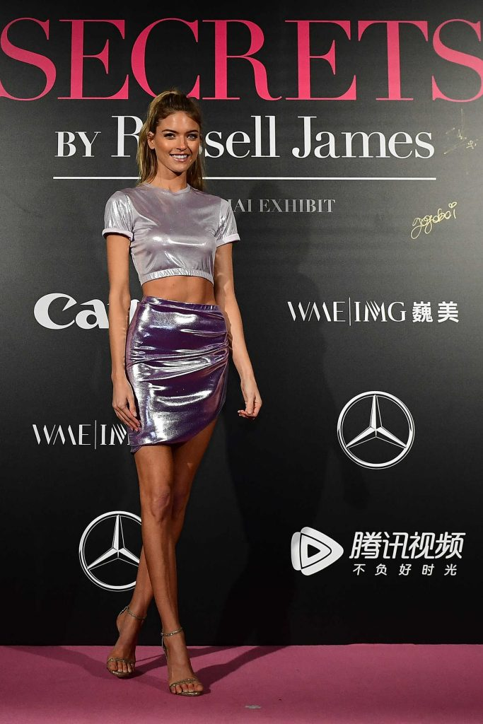 Martha Hunt at the Mercedes-Benz Backstage Secrets By Russell James in Shanghai-2