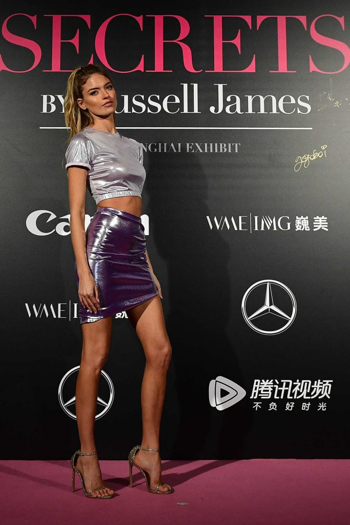 Martha Hunt at the Mercedes-Benz Backstage Secrets By Russell James in Shanghai-3