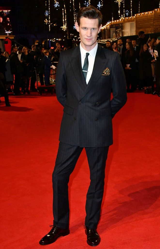 Matt Smith at The Crown 2 World Premiere at Odeon Leicester Square in London-1