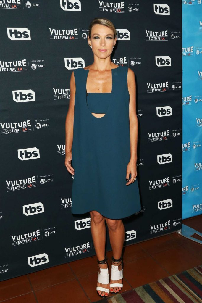 Natalie Zea at the Vulture Festival Scandal Panel in Los Angeles-1