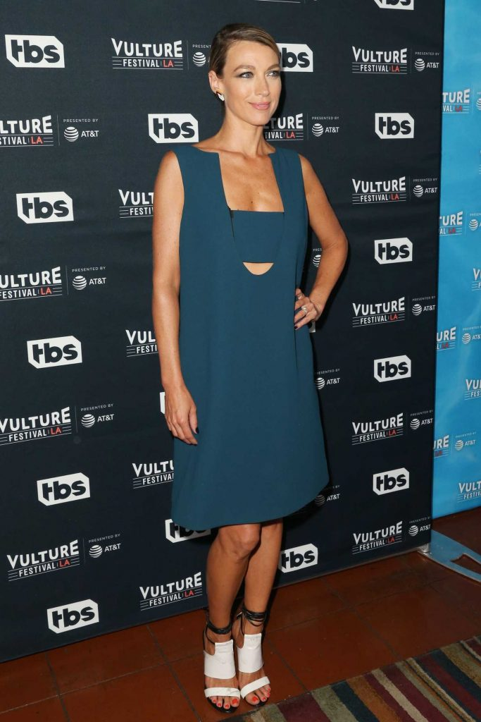 Natalie Zea at the Vulture Festival Scandal Panel in Los Angeles-2