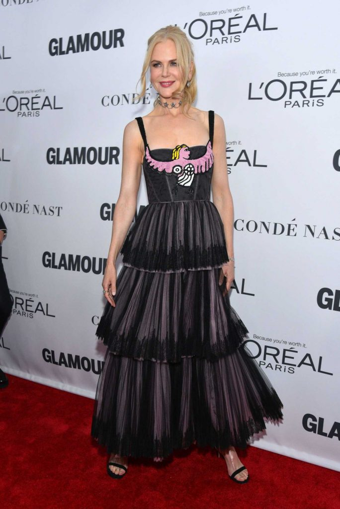 Nicole Kidman at 2017 Glamour Women of the Year Awards in NYC-1
