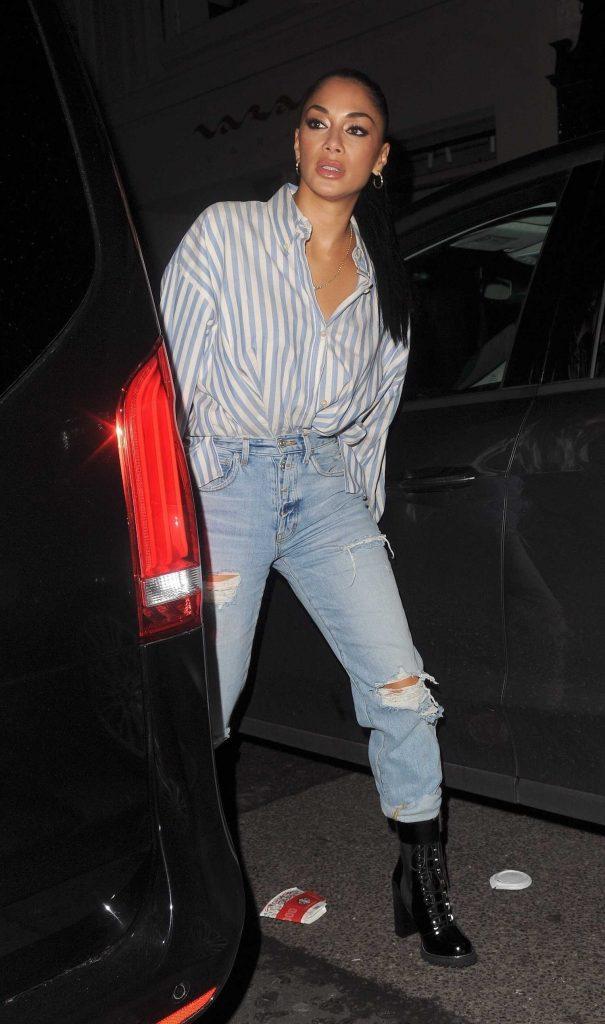 Nicole Scherzinger Leaves the Arts Club in London-1
