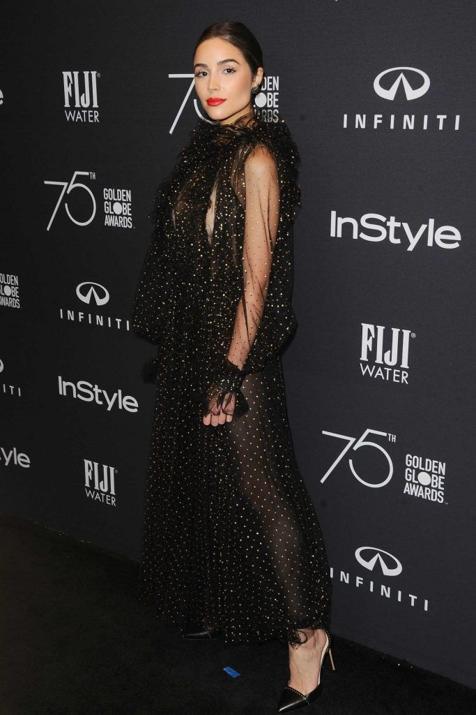 Olivia Culpo at the HFPA and InStyle Celebrate the 75th Anniversary of The Golden Globe Awards at Catch LA-3