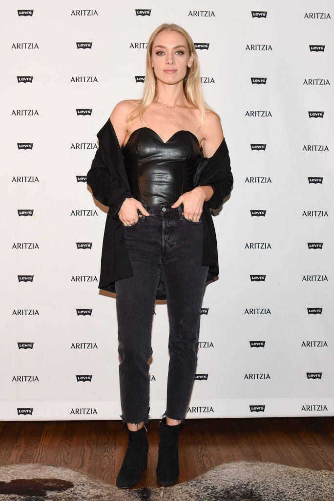 Rachel Skarsten at the Levi's by Aritzia Collection Launch Event in Los Angeles-1