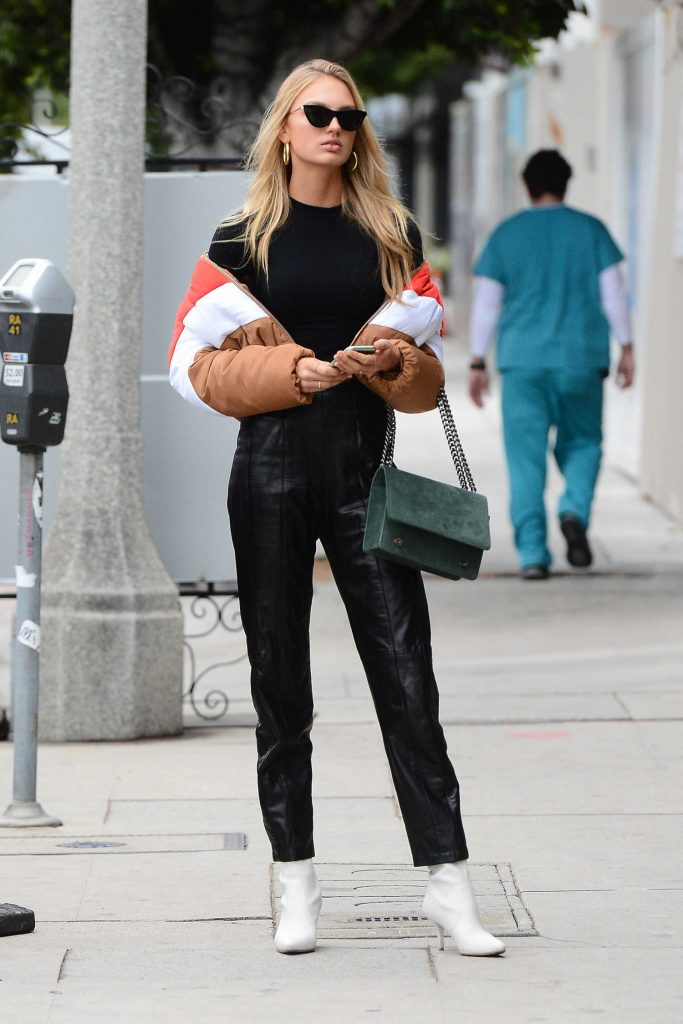 Romee Strijd Leaves the Ivy Restaurant in West Hollywood-3