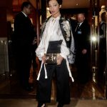 Ruth Negga at the Louis Vuitton x Vogue Gingernutz Event in London
