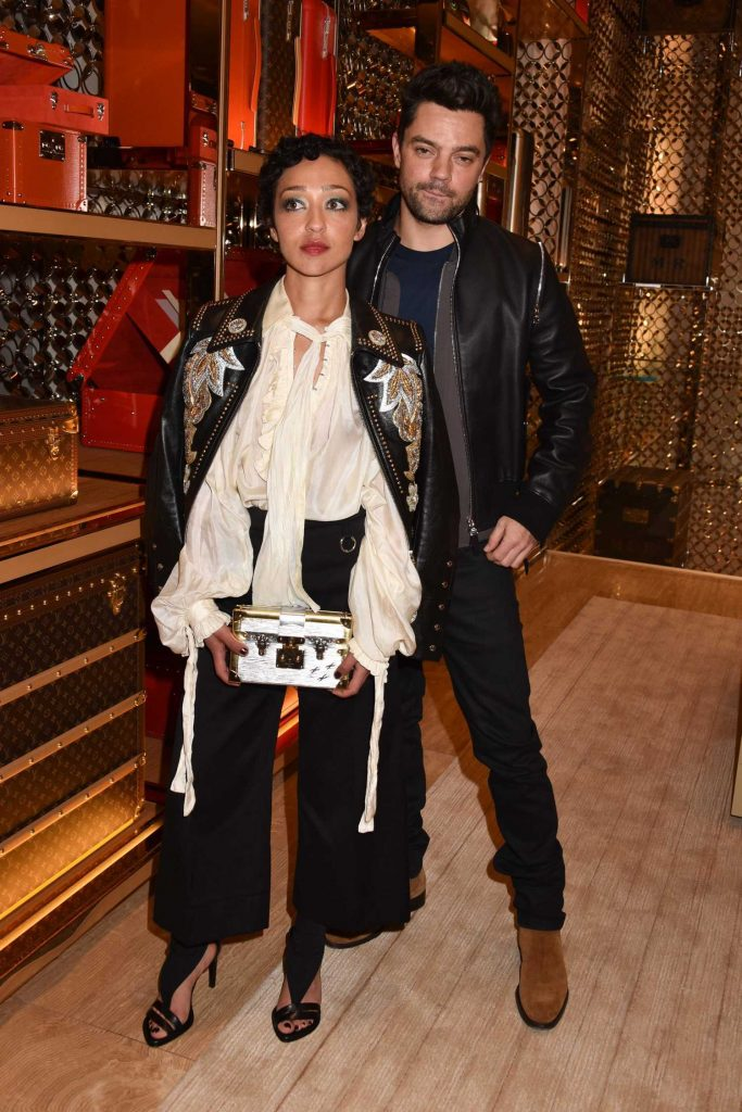 Ruth Negga at the Louis Vuitton x Vogue Gingernutz Event in London-2