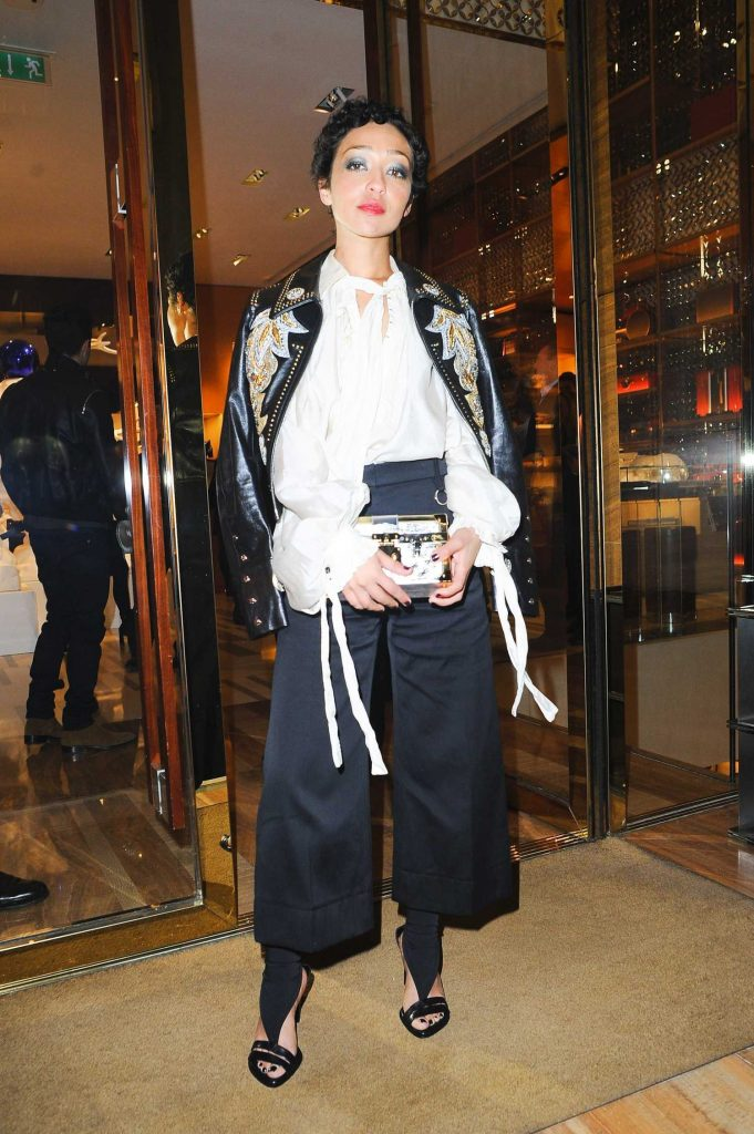 Ruth Negga at the Louis Vuitton x Vogue Gingernutz Event in London-3