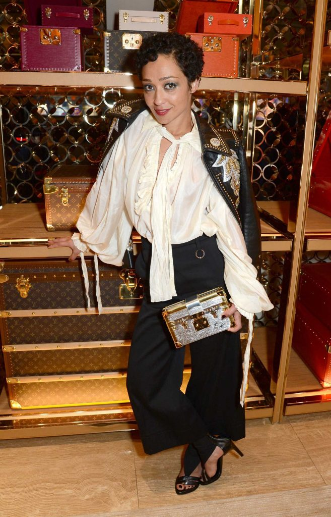 Ruth Negga at the Louis Vuitton x Vogue Gingernutz Event in London-5