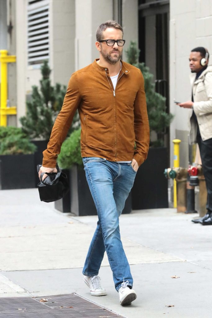Ryan Reynolds Was Seen Out in New York City-1