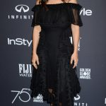 Salma Hayek at the HFPA and InStyle Celebrate the 75th Anniversary of The Golden Globe Awards at Catch LA