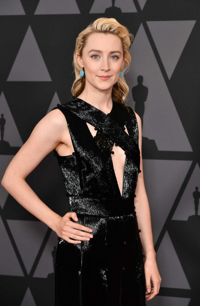 Saoirse Ronan at Academy of Motion Picture Arts and Sciences 9th Annual Governors Awards in Hollywood-2