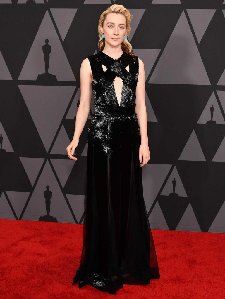 Saoirse Ronan at Academy of Motion Picture Arts and Sciences 9th Annual Governors Awards in Hollywood-3