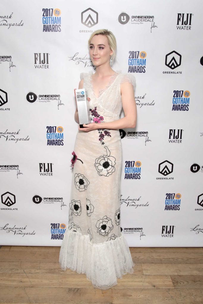 Saoirse Ronan at the 27th Annual Gotham Independent Film Awards in New York City-1