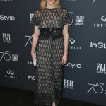 Sarah Gadon at the HFPA and InStyle Celebrate the 75th Anniversary of The Golden Globe Awards at Catch LA