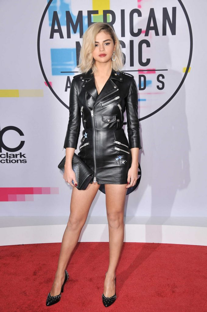 Selena Gomez at 2017 American Music Awards at the Microsoft Theater in Los Angeles-1