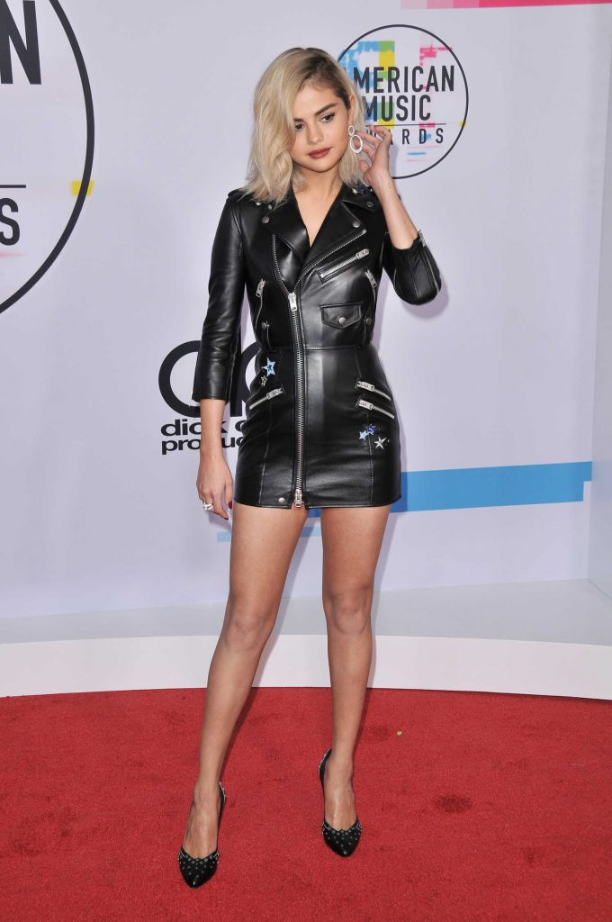 Selena Gomez at 2017 American Music Awards at the Microsoft Theater in Los Angeles-3